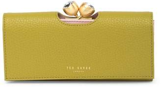 Ted Baker Textured Kisslock Bobble Matinee Wallet