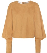 Stella McCartney Olivia faux suede top