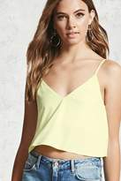 Forever 21 Faux Suede Cropped Cami