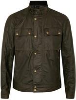Belstaff Racemaster Olive Coated Cotton Jacket