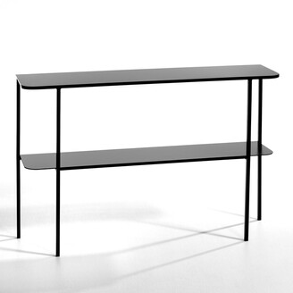 Am.pm. HONORIANNE Designer Metal Console Table