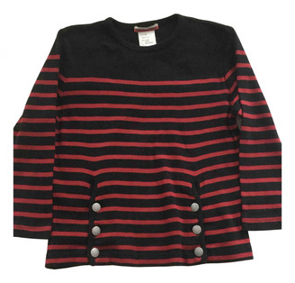 Jean Paul Gaultier Red Cotton Tops