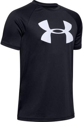 Under Armour Boys' UA Tech Big Logo Short Sleeve