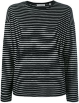 Vince striped longsleeved T-shirt - women - Cotton - XS