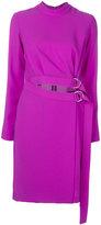 Carven tie loop dress - women - Polyester - 40