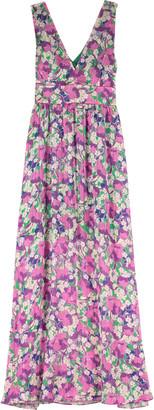 Pinko Hasko Floral Print Long Dress