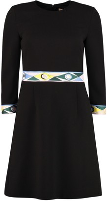 Emilio Pucci Crepe Sheath Dress