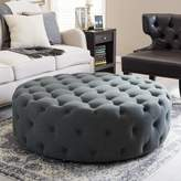Three Posts Wadley Tufted Cocktail Ottoman