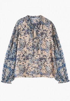 Lily & Lionel Stevie Top in Bloom - small | viscose