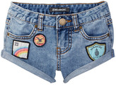 Billabong Coolside Cuff Jean Short (Little Girls & Big Girls)