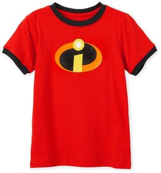 Disney Incredibles Logo Ringer T-Shirt for Kids