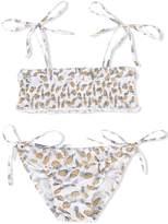 Simple pineapple print bikini