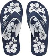 Board Angels Womens EVA Toe Post Sandals Navy/White