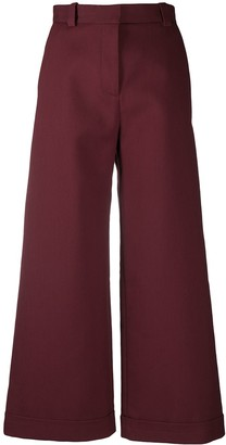 See by Chloe High-Waisted Wide-Leg Trousers