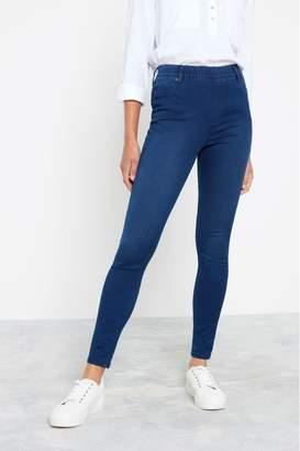 F&F Womens Indigo Jegging Jeans - Blue