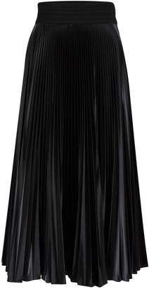 Fendi Pleated long skirt