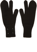 Maison Margiela Black Tabi Gloves