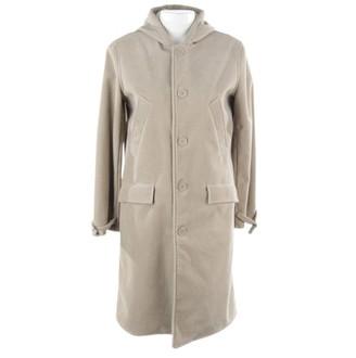 Polo Ralph Lauren Beige Velvet Coat for Women