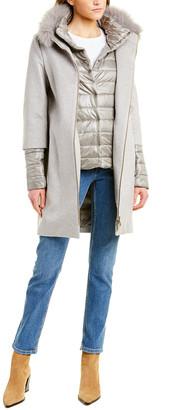 Herno Cocoon Cashmere Coat