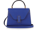 Valextra Iside micro grained-leather cross-body bag