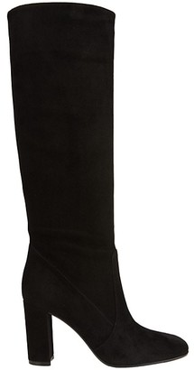 Gianvito Rossi Tall Suede Boots