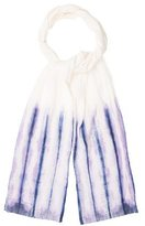 eskandar Linen Tie-Dye Scarf