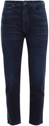 Rag & Bone Faded Mid-rise Slim-leg Jeans