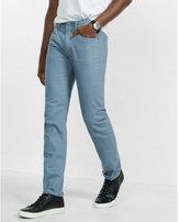 Express slim leg slim fit rocco blue jean