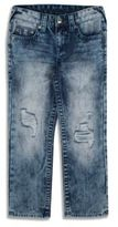 True Religion Little Boy's Straight-Fit Distressed Jeans