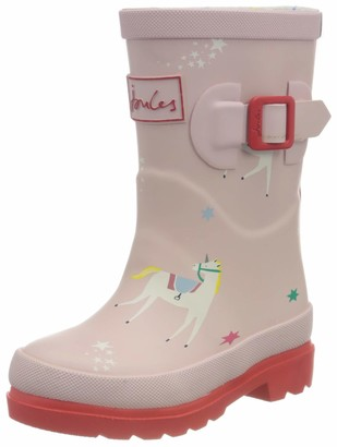 Joules Girl's Welly Print Boot