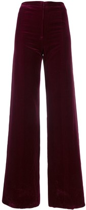 Ungaro Pre-Owned 1970's wide-leg trousers