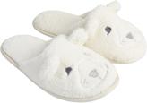 Accessorize Bella Bear Mule Slippers