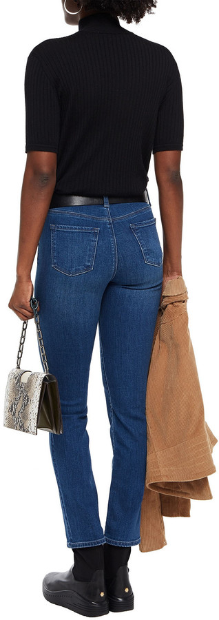 Thumbnail for your product : J Brand High-rise Slim-leg Jeans