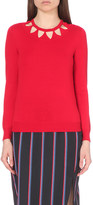 Altuzarra Woodward cutout knitted jumper