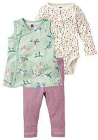 Tea Collection Wild Pajaro Set (Baby)-Multicolor-12-18 Months