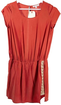 Les Petites Red Silk Dress for Women