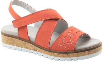 Dromedaris Adjustable Strap Leather Sandals - Reese