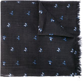 Bellerose frayed edge scarf - men - Wool - One Size