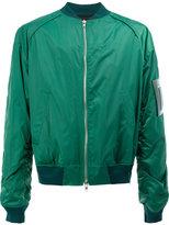 Juun.J arm detail bomber jacket