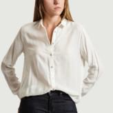 American Vintage Off White Viscose Dorabird Shirt - m | viscose | off white - Off white