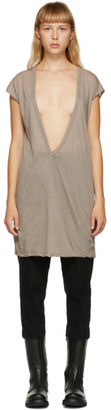 Rick Owens Taupe Dylan T-Shirt