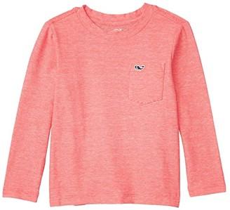 Vineyard Vines Kids Long Sleeve Super Soft Pocket T-Shirt (Toddler/Little Kids/Big Kids) (Cuckoo) Boy's Clothing