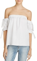 Milly Off-the-Shoulder Bow Top