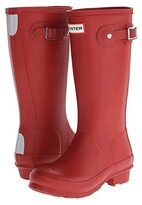 Hunter Original Kids' Classic Rain Boot (Little Kid/Big Kid) (Black) Kids Shoes