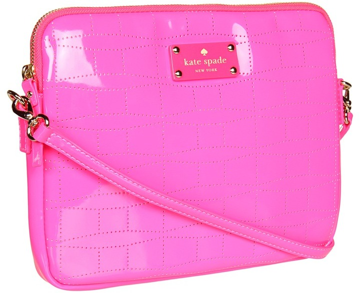 Kate Spade Signature Spade Bryce (Zinnia Pink) - Bags and Luggage