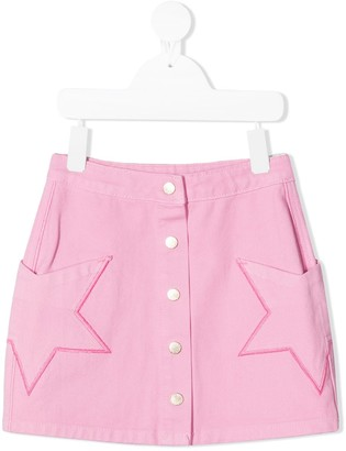 Billieblush Star Patch Mini Skirt