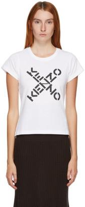 Kenzo White Sport Logo T-Shirt