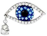Butler & Wilson Small Big Brother Crystal Eye Pin