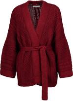 Etoile Isabel Marant Floyd cable-knit cotton-blend cardigan