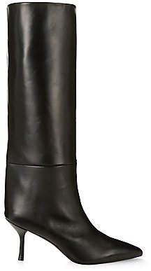 Stuart Weitzman Women's Magda Mid-Calf Leather Boots